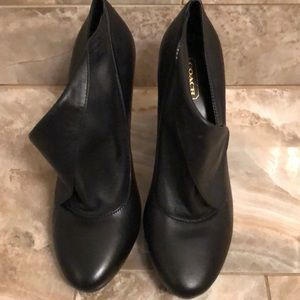 Coach Booties Black